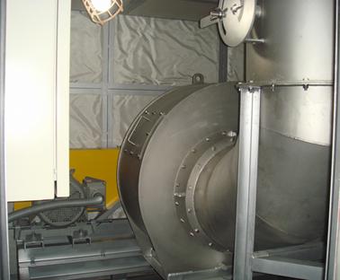 脱臭装置の附帯工事(建屋及び防音BOX設備)